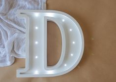 Marquee Letter D - Wall Decor - Marquee letter light - Wall Hangings - Sign D- Wooden letters-Nursery wall hanging Night light Kids lamp Battery Lights, Marquee Lights, Marquee Letters, Light Letters, Wooden Alphabet, Wooden Letters, Large Letters, Alphabet Lighting, Kids Lamps