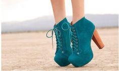 Imagem de shoes, heels, and blue