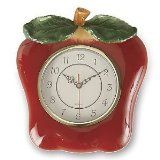 Apple kitchen wall clocks make a functional and decorative addition to an apple theme kitchen. Kitchens just seem to naturally need a wall clock. Apple Kitchen Decor, Red Kitchen, Kitchen Ideas, Red Accessories, Decorative Accessories, Kitchen Accessories, Wall Clock Brands, Red Clock, Apple Decorations