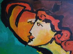 Marc Chagall  #marcchagall #Marc-Chagall #Chagall http://www.johanpersyn.com/chagall-cubist-colours/
