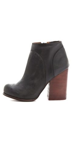 Jeffrey Campbell Hanger Leather Raw Bootie...I have a similar pair from last winter and I've worn them nonstop. These will be the replacement!