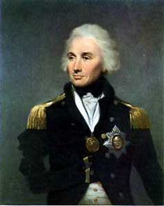 British Admiral Lord Nelson
