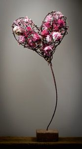 Flowers in the heart floral design Moniek Vanden Berghe