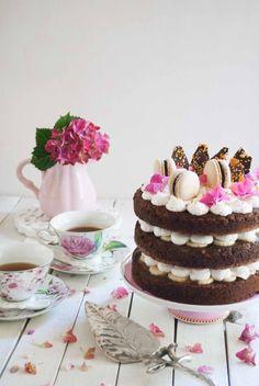 Banoffee layer cake