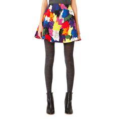 Circle Mini Skirt in Color Splash - Kate Spade Saturday - $95