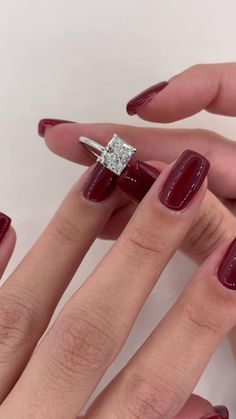 Unique Rings, Unique Jewelry, Princess Jewelry, Beautiful Diamond Rings, Fancy Jewellery, Dream Engagement Rings, Radiant Cut, Fantasy Dress, White Gold Rings