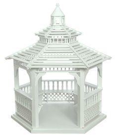 Dollhouse miniature garden outdoor park yard furniture fun play house child's