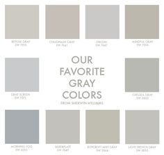 Best gray paint colors for design.