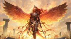 1242x2688 Angel Warrior Arrive Iphone XS MAX Wallpaper, HD Fantasy 4K Wallpapers, Images, Photos and Background - Wallpapers Den