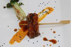 Tataki de pato--una versión de fusión contemporánea. #globalfood #fusionfood #restaurante #valencia #restauranterecomendado
