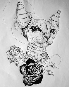 74 vind-ik-leuks, 5 reacties - Geduis Salcedo-CLOWN TATTOO (@clown.tattoo) op Instagram: 'Diseño a tatuar diosa basted #bastettattoo #tattoodesign #ink #inked #inkedgirl #tattoo #tattoolove'