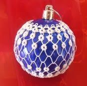 Janemactats Easy Christmas Bauble pattern