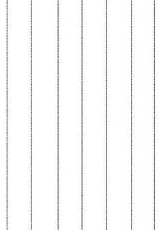 Découpage lignes verticales