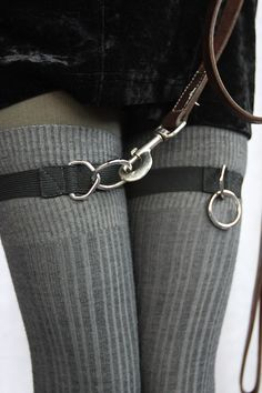 Socks by Sock Dreams » Accessories » Sock Garters » Snappy D Ring Garters
