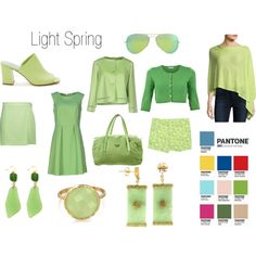 Greenery for Light Spring by christinems on Polyvore featuring Ekle', P.A.R.O.S.H., InCashmere, Ermanno Scervino, Just Cavalli, Parke & Ronen, Maryam Nassir Zadeh, Prada, Bling Jewelry and Ray-Ban
