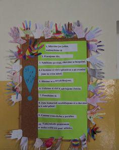 Pravidla Class Management, Classroom, Education, School, Frame, Kids, Inspiration, Home Decor, Class Room