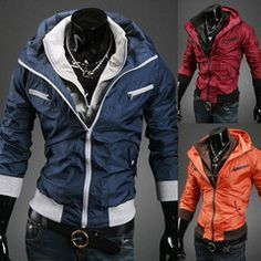 Spring season could be windy sometimes, and having a windbreaker in your wardrobe seems very practical.   unique-outfit.com