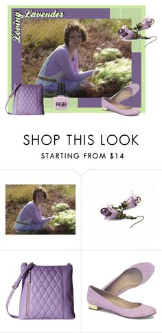"""Loving Lavender"" by clschmauder ❤ liked on Polyvore featuring Oris, Vera Bradley, J.Crew and RGB Cosmetics"