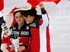 It will be the perfect parting gift for impending retirees Patrick Chan, Scott Moir and Tessa Virtue, Meagan Duhamel and Eric Radford Virtue And Moir, Tessa Virtue Scott Moir, 2018 Winter Olympic Games, 2018 Winter Olympics, Ice Skating, Figure Skating, Meagan Duhamel, Patrick Chan, Sketches