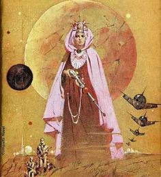 JEROME PODWIL - art for Empress of Outer Space by A. Bertram Chandler - 1965 Ace Double #M-129