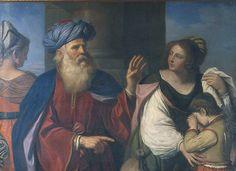 Barbieri Giovan Francesco detto Guercino Abraham Casting out Hagar and Ishmael 1657 ca. Milano Pinacoteca di Brera