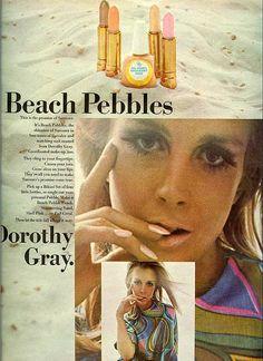 1967 Dorothy Gray Beach pebbles.