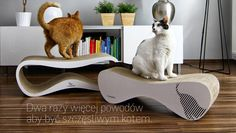 myKotty - designerskie meble dla kotów: drapak, leżanka, miejsce zabawy, domek dla kota