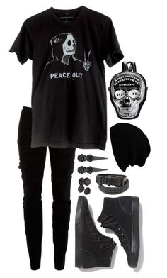 A fashion look from December 2015 featuring tee-shirt, Joie and suede shoes. Browse and shop related looks. Scene Outfits, Emo Outfits, Grunge Outfits, Emo Girls, Flannels, Nu Goth, Band Merch, Alternative Fashion, Everyday Outfits