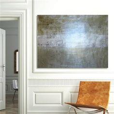 Annabella Thorsen - Jarle, techniques mixtes sur toile, 102x76cm