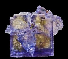 Fluorite : Chalcopyrite : Denton Mine, Harris Creek Mining Sub-District, Hardin Co. Minerals And Gemstones, Rocks And Minerals, Get Thin, Rock Of Ages, Rock Collection, Mineral Stone, Rocks And Gems, Stones And Crystals, Gem Stones