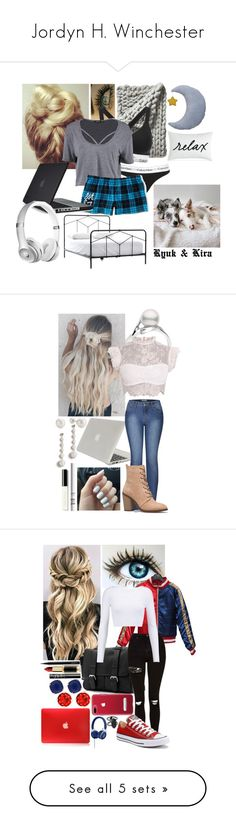 """Jordyn H. Winchester"" by frootloop16 ❤ liked on Polyvore featuring Serena & Lily, Calvin Klein, Calvin Klein Underwear, Boohoo, Aéropostale, Charter Club, Speck, Tucano, 2LUV and Miss Selfridge"