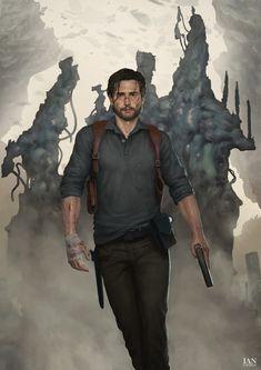 The Evil Within Ian Loginov Game Character, Character Concept, Concept Art, Character Design, Resident Evil, The Evil Within Game, The Ordinary World, Sebastian Castellanos, Vampire Stories