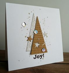 Make 65 ideas for Christmas cards yourself - Karten -