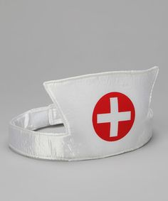 White Nurse Headband. The plush number goes on easily with its hook-and-loop closure so patients can be treated as soon as possible $6.99