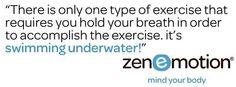 That's a FACT!  #zenemotion #pilates #yoga #taichi #mind #Body #powerwalk #personaltraining