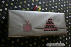 Masking tape gift wrapping
