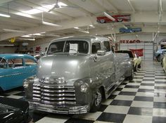 check out this chevy cab over truck