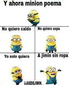 Read 1 from the story Memes de BTS by with reads. Bts Meme Faces, Bts Memes, Funny Memes, Funny Spanish Memes, Spanish Humor, Minion Poemas, Death Note Funny, Cute Minions, Love Phrases