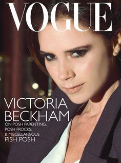 "Victoria Beckham.   16 Fabulous Fantasy ""Vogue"" Covers"