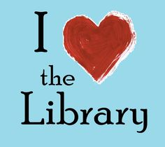 I love the Library graphic for National Library Week.