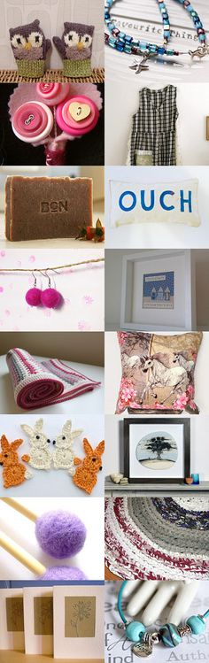 Handmade hour finds 2 by Jilly on Etsy--Pinned+with+TreasuryPin.com
