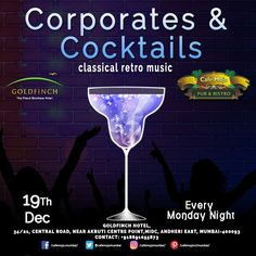 Café Mojo Mumbai presents Corporates & Cocktails for you this Monday Night. Leave the work woes & revel in the wide range of cocktails.  #CafeMojo #Party #NightLife #Pubs #Beer #Fun #Beers #Enjoy #GoodTimes #OntheBar  #Parties #PartyMusic #DrinkLocal #Music #Dance #Pub #Drinks