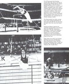 Pt. 2 of Recap of Oregon men's gymnastics team 1978-79. From the 1979 Oregana (University of Oregon yearbook). www.CampusAttic.com
