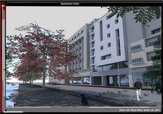 Bucharest, Proposal, Multi Story Building, Projects, Blue Prints, Tile Projects