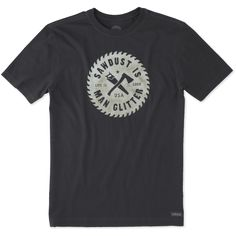 MEN'S SAWDUST GLITTER CRUSHER TEE - Small only