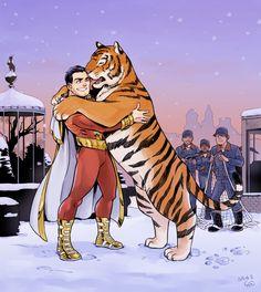 Shazam and Tawny.