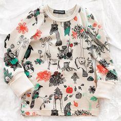 aarrekid organic forest longsleeve - tops - baby girl   Thumbeline