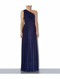 Blue (Blue) Dark Blue 15-in-1 Maxi Prom Dress | 305134240 | New Look