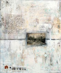lalymille.com - beautiful mixed media pieces made with layers of ephemera and paint paired with photography