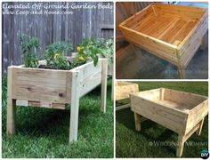 DIY Elevated Raised Garden Bed-20 DIY Raised Garden Bed Ideas Instructions